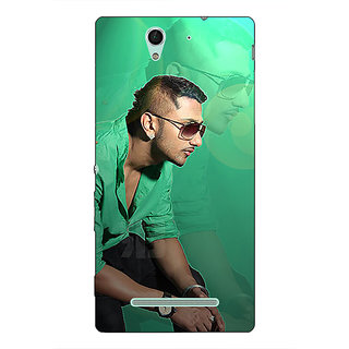 1 Crazy Designer Bollywood Superstar Honey Singh Back Cover Case For Sony Xperia C3 C551177