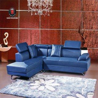 Decotex sofa leather in  black