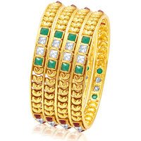 Sukkhi Amazing Gold Plated Bangle For Women
