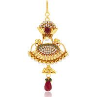 Sukkhi Wavy Gold Plated Passa For Women