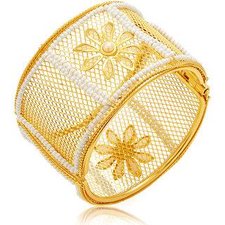 Sukkhi Angelic Gold Plated Kada For Women
