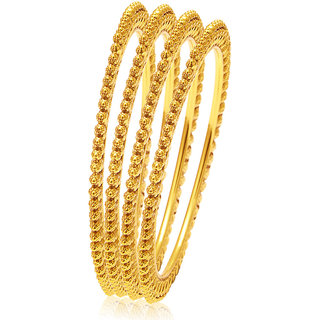Sukkhi Excellent Gold Plated Bangle For Women