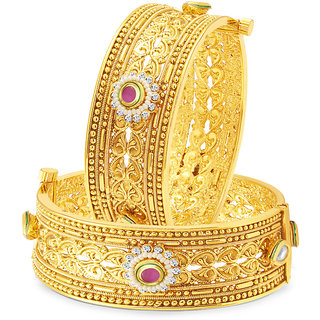 Sukkhi Astonish Gold Plated Bangle For Women