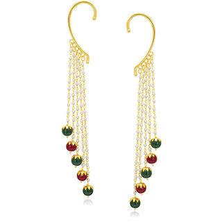 Sukkhi Splendid Gold Plated Pearl Earcuff For Women
