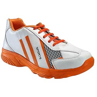 Yepme Galvanize Sports Shoes - White & Orange
