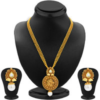 Sukkhi Gold Plated Multicolor Alloy Necklace Set For Women