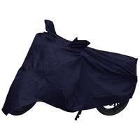 Bull Rider Bike Body Cover With Mirror Pocket For Hero Splender Pro (Colour Black)
