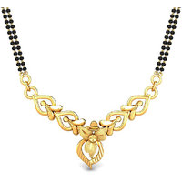 Candere Arpita Gold Mangalsutra Pendant 18K Yellow Gold