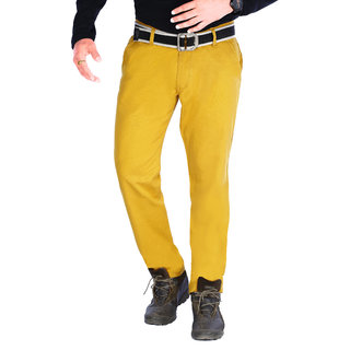 Uber Urban Men's Mustard Chinos