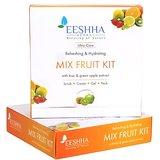 EESHHA - MIX FRUIT KIT Refreshing & Hydrating Scrub Creamwith Kiwi & Green Apple