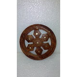 Wooden Wheel Key Hanger (s)