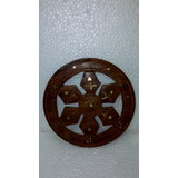 Wooden Wheel Key Hanger (m)