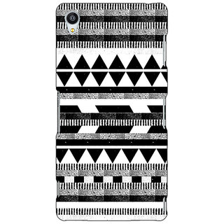 1 Crazy Designer Aztec Girly Tribal Back Cover Case For Sony Xperia M4 C610069