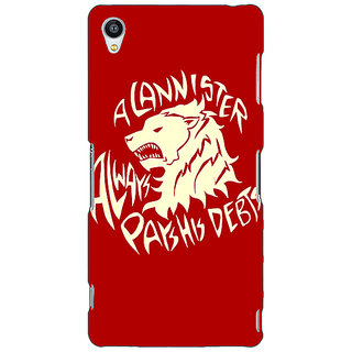 1 Crazy Designer Game Of Thrones GOT House Stark  Back Cover Case For Sony Xperia M4 C610123