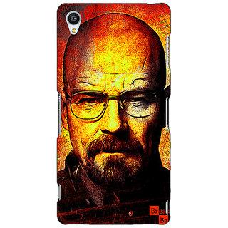 1 Crazy Designer Breaking Bad Heisenberg Back Cover Case For Sony Xperia M4 C610405