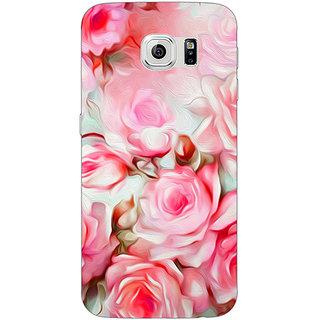 1 Crazy Designer Floral Pattern  Back Cover Case For Samsung S6 Edge C600666