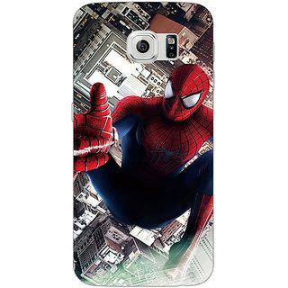1 Crazy Designer Superheroes Spiderman Back Cover Case For Samsung S6 Edge C600880