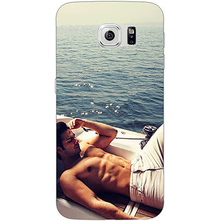 1 Crazy Designer Bollywood Superstar Varun Dhawan Back Cover Case For Samsung S6 Edge C600931