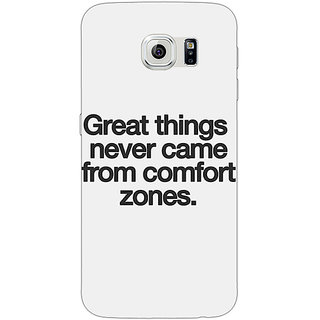 1 Crazy Designer Quotes Back Cover Case For Samsung S6 Edge C601196