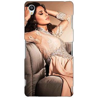1 Crazy Designer Bollywood Superstar Nargis Fakhri Back Cover Case For Sony Xperia M4 C611010