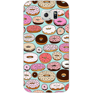1 Crazy Designer Donut Love Back Cover Case For Samsung S6 Edge C600698