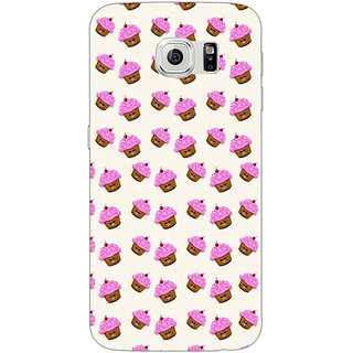 1 Crazy Designer Cupcake Love Back Cover Case For Samsung S6 Edge C600699