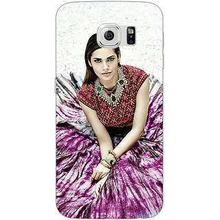 1 Crazy Designer Bollywood Superstar Esha Gupta Back Cover Case For Samsung S6 Edge C600968