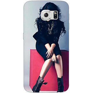 1 Crazy Designer Bollywood Superstar Sonakshi Sinha Back Cover Case For Samsung S6 Edge C600994