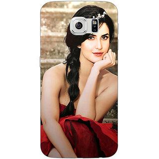 1 Crazy Designer Bollywood Superstar Katrina Kaif Back Cover Case For Samsung S6 Edge C600995