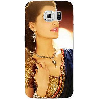 1 Crazy Designer Bollywood Superstar Nargis Fakhri Back Cover Case For Samsung S6 Edge C600997