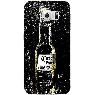 1 Crazy Designer Corona Beer Back Cover Case For Samsung S6 Edge C601232