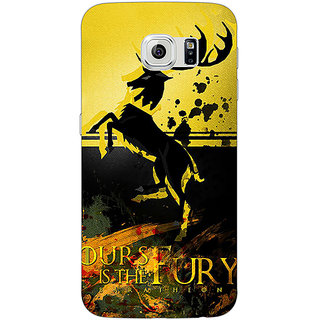 1 Crazy Designer Game Of Thrones GOT Baratheon Back Cover Case For Samsung S6 Edge C601530