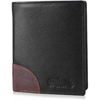 arpera-Safari Genuine Leather Secure loop wallet Black C11540-1