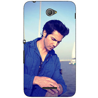 1 Crazy Designer Bollywood Superstar Varun Dhawan Back Cover Case For Sony Xperia E4 C620951