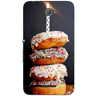 1 Crazy Designer Donut Birthday Back Cover Case For Sony Xperia E4 C621218