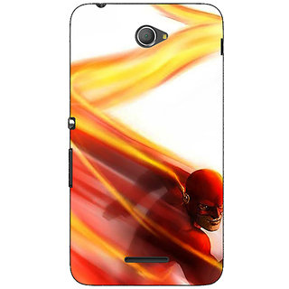 1 Crazy Designer Flash Back Cover Case For Sony Xperia E4 C621434