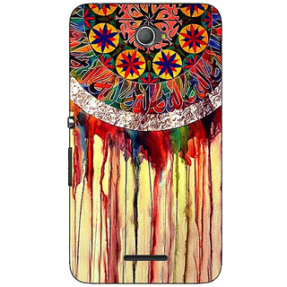 1 Crazy Designer Abstract Dream Catcher Pattern Back Cover Case For Sony Xperia E4 C621508