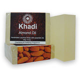 Khadi Soap Almond Milk & Saffron ( Pack Of 3 )