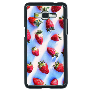 1 Crazy Designer StrawberryPattern Back Cover Case For Samsung Galaxy J5 C630202