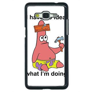 1 Crazy Designer Spongebob Patrick Back Cover Case For Samsung Galaxy J5 C630474