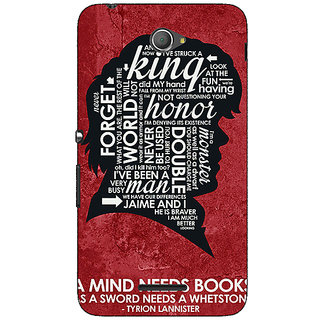1 Crazy Designer Game Of Thrones GOT House Lannister Tyrion Back Cover Case For Sony Xperia E4 C621557