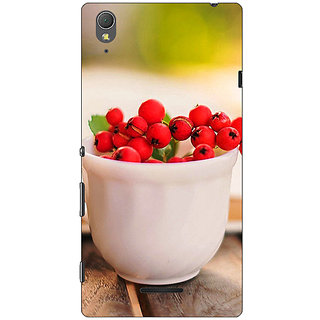 1 Crazy Designer Berries Back Cover Case For Sony Xperia T3 C640684