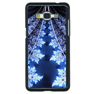 1 Crazy Designer Abstract Snow Flake Pattern Back Cover Case For Samsung Galaxy J5 C631503
