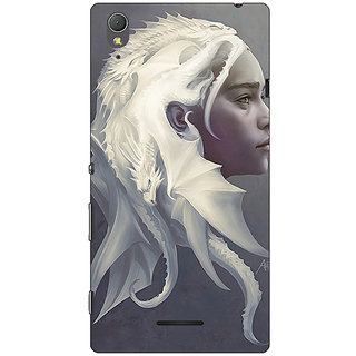 1 Crazy Designer Game Of Thrones GOT House Targaryen  Back Cover Case For Sony Xperia T3 C640141