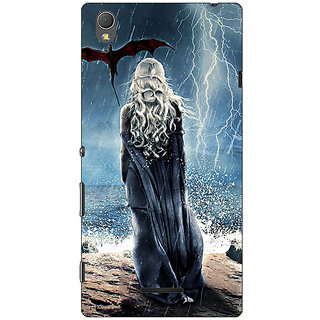 1 Crazy Designer Game Of Thrones GOT House Targaryen  Back Cover Case For Sony Xperia T3 C640147