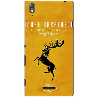 1 Crazy Designer Game Of Thrones GOT House Baratheon  Back Cover Case For Sony Xperia T3 C640172