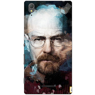 1 Crazy Designer Breaking Bad Heisenberg Back Cover Case For Sony Xperia T3 C640421