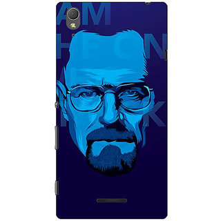 1 Crazy Designer Breaking Bad Heisenberg Back Cover Case For Sony Xperia T3 C640431