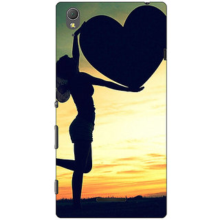 1 Crazy Designer Valentines Back Cover Case For Sony Xperia T3 C640732