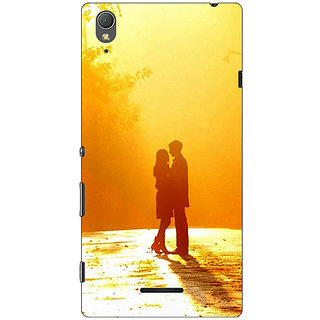1 Crazy Designer Valentines Back Cover Case For Sony Xperia T3 C640733